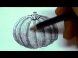 pumpkin drawing with shading. pencil shading techniques - how to shade a circle object by drawing pumpkinhow draw pumpkin with r