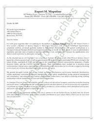 assistant principal cover letter sample or example aka letter of intent or letter of interest superintendent cover letter