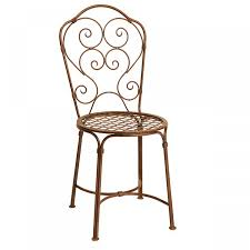 outdoor metal chair. Chair And Table Design:French Metal Bistro Chairs For Outdoor Furniture