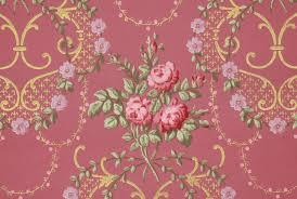 Pink Damask Wallpaper Bedroom Gold Wallpaper Etsy