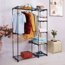 proaid double rod freestanding closet premium steel quality heavy intended for heavy duty portable closet best heavy duty portable closet