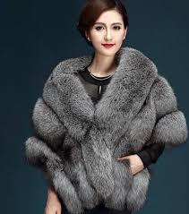 luxurious winter fur coats