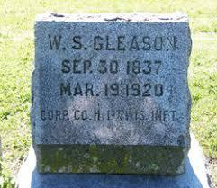 Walter Scott Gleason (1837-1920) - Find A Grave Memorial