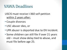 Sample Vawa Cover Letter Immigration Impact Vawa And U Visa Training For Legal