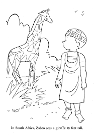 Small Picture Africa Coloring Page Miakenasnet