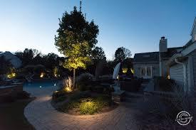 Landscape Lighting Moonlight Effect Lighting Your Landscape Farmside Landscape Design