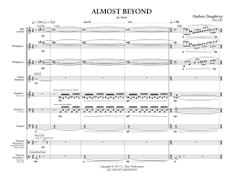 Percussion Bells Notes Chart Almost Beyond Perc Ens 7 9