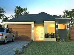 one story exterior house design. One Story Modern House Small Home Homes Exterior 3 . Design D