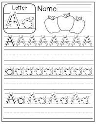 Handwritting Practice Free A Z Handwriting Practice