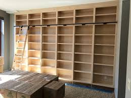 built in library bookcases mpls mn