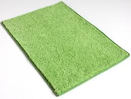image of lime green area rug
