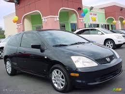 2003 Nighthawk Black Pearl Honda Civic Si Hatchback #24493304 ...