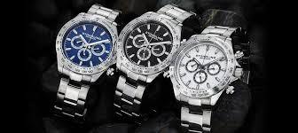 amazon com stuhrling original men s 564 01 concorso raceway swiss stuhrling original men s multifunction watches raceway collection