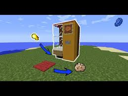 How To Make Vending Machine In Minecraft Pe Inspiration How To Make Vending Machine In Minecraft YouTube