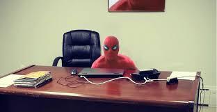 spider man ben parker furniture sitting table desk