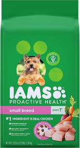 Iams Proactive Health Adult Small Breed Dry Dog Food 3 3 Lb Bag
