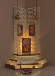 Best Pooja Room Design By Interior Designer Kamlesh Maniya - Home interiors india