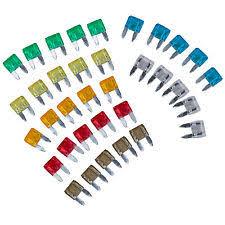 motorcycle fuses fuse boxes 2x 35 pcs mixed mini blade fuse auto car 5 7 5 10 15 20 25 30 amp t8