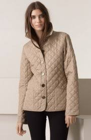 Burberry Diamond Quilted Jacket In Natural | Lyst ( Diamond ... & ... Burberry Brit Diamond Quilted Jacket In Natural | Lyst (wonderful Diamond  Quilted Jacket Burberry ... Adamdwight.com