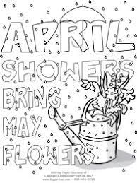 Small Picture April Showers Kid FunPrintables Pinterest April showers