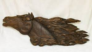 carved wood wall art decor art gallery