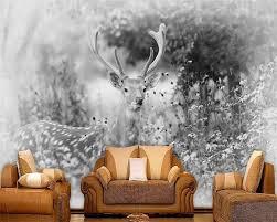 Beibehang Custom Behang Wit Elanden Bos Serie Tv Achtergrond Muur