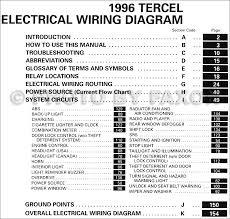 1996 toyota tercel wiring diagram manual original 1996 Toyota Camry Wiring Diagram 1996 toyota tercel wiring diagram manual original table of contents 1996 toyota camry wiring diagram pdf