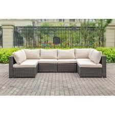 Outdoor sofa furniture Brown Quickview Joss Main Patio Furniture Joss Main