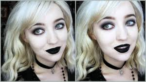 goth makeup for beginners simple quick