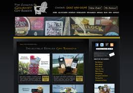 coastal gourmet gift baskets e merce by not fade away marketing of boca raton