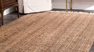 romantic nuloom jute rug on the gray barn antelope springs chunky and wool tassel area