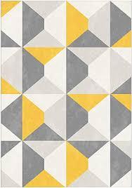 modern style rugs home accessories in geometric grey cream mustard yellow diamond