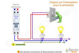 Schéma électrique Interrupteur Simple Allumage