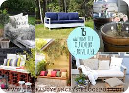 diy yard furniture. garden week 15 awesome diy outdoor furniture ideas diy yard
