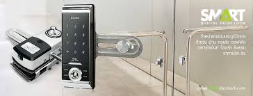digital lock สำหร บประต กระจกบานเปล อย