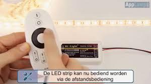 Mi Light Fut036 Witte Ledstrip Aansluiten Mi Light Controller