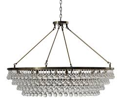 celeste extra large glass drop crystal chandelier