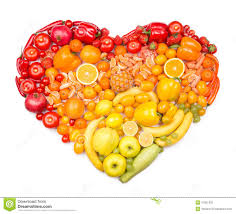fruit and vegetables heart. Simple Heart Rainbow Heart Of Fruits And Vegetables On Fruit And Vegetables Heart R