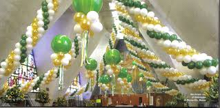 Decorating With Balloons Balloon Ceiling Decor Decorations Balloons Toronto Tierra Este