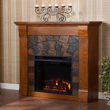com elkmont electric fireplace m antique oak kitchen dining