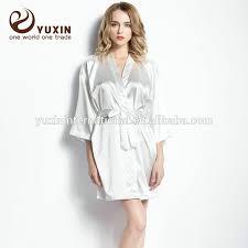 plus size silk robe china plus size robe wholesale