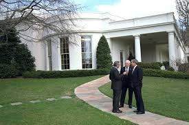 where is the oval office. filebush cheney and rumsfeld outside the oval officejpg where is office e