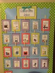 Image Result For Middle School Classroom Job Chart