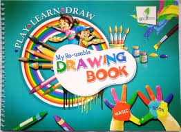 my reusable drawing book