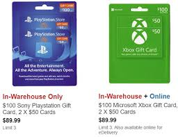 Chart House Gift Card Costco Costco Buy 2x 50 Gift Card Multipacks For Xbox