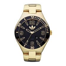 adh2652 adidas men s big faced gold watch melbourne stainless adidas adh2652