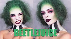 beetlejuice makeup tutorial