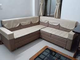 l shape modern small room corner wooden