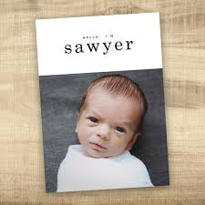 Baby Announcement Cards Baby Announcement Photo Card Simple Hello Baby Birth Announcement Baby Announcement Digital Baby Girl Birth Announcement Modern Baby