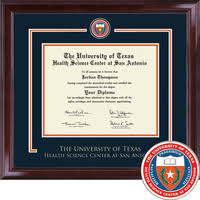 diploma frames ut health science center san antonio bookstore church hill classics showcase diploma frame bachelors masters phd